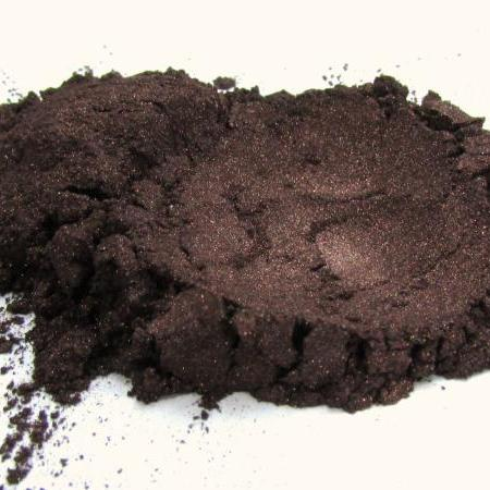 Mineral Eyeshadow, Natural Mineral Makeup, Vegan and Cruelty Free Chocolate